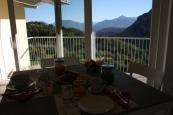 Panorama dalla sala colazioniLa Costa B&B Fai della Paganella Trentino Dolomiti