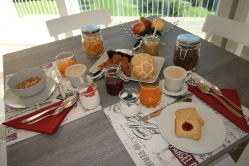 La colazione La Costa B&B Fai della Paganella Trentino Dolomiti
